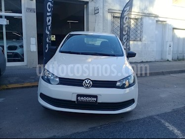 Volkswagen Gol Trend 3P Pack I usado (2016) color Blanco