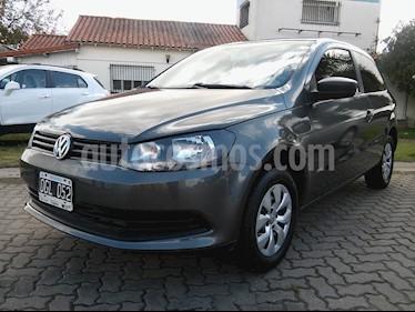 Foto venta Auto usado Volkswagen Gol Trend 3P Pack II (2014) color Gris Cuarzo precio $250.000