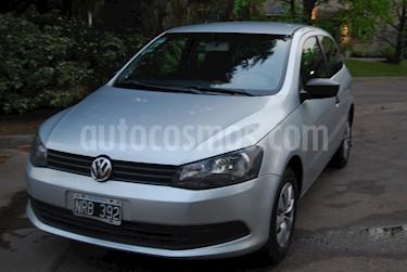 Foto venta Auto usado Volkswagen Gol Trend 3P Pack II (2014) color Gris precio $3.150.000