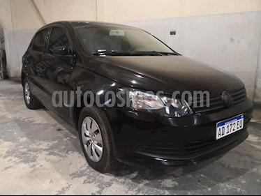 Volkswagen Gol Trend 5P Comfortline usado (2018) color Negro precio $410.000