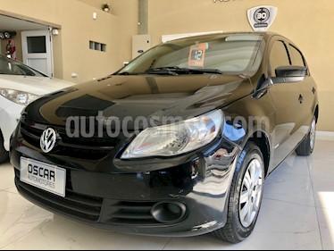 Volkswagen Gol Trend 5P Pack I usado (2012) color Negro precio $325.000