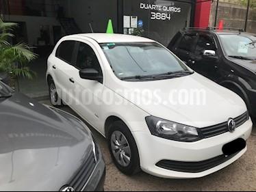 Foto venta Auto usado Volkswagen Gol Trend 5P Pack II (2013) color Blanco precio $320.000