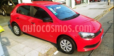 foto Volkswagen Gol Trend 5P Pack II usado (2013) color Rojo precio $300.000