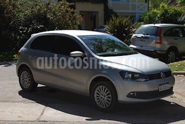 Foto venta Auto usado Volkswagen Gol Trend 5P Pack III (2016) color Gris precio $320.000