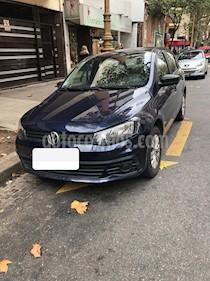 Foto venta Auto usado Volkswagen Gol Trend 5P Trendline (2017) color Azul precio $449.000