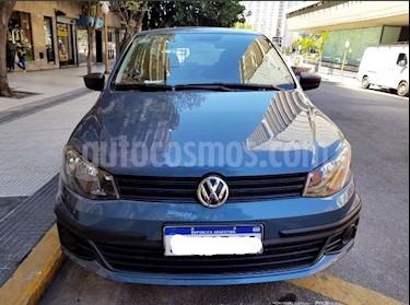 Foto venta Auto usado Volkswagen Gol Trend 5P Trendline (2017) color Azul Catalina precio $399.000