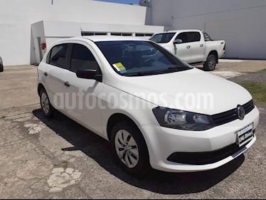Volkswagen Gol Trend 5P Pack I usado (2013) color Blanco Cristal precio $420.000