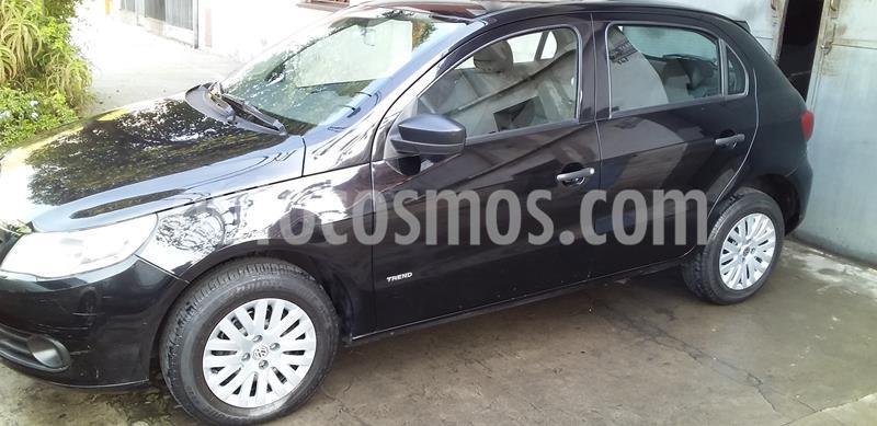 Volkswagen Gol Trend 5P Pack I usado (2012) color Negro precio $445.000