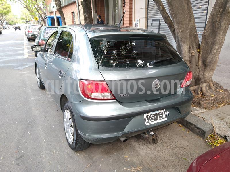 Volkswagen Gol Trend 5P Pack II usado (2011) color Gris Vulcano precio $450.000