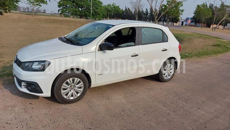 Volkswagen Gol Trend 5P Pack I Plus usado (2017) color Blanco Cristal precio $720.000
