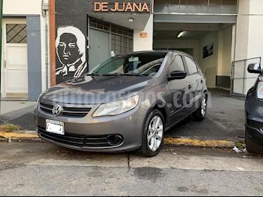 Volkswagen Gol Trend 5P Pack III I-Motion usado (2012) color Gris Urano precio $419.000