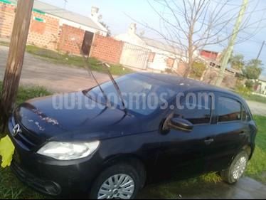 Volkswagen Gol Trend 5P Pack I usado (2012) color Negro precio $245.000