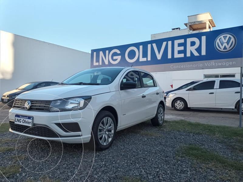 Foto Volkswagen Gol Trend 5P Trendline Aut usado (2021) color Blanco Cristal precio $1.450.000