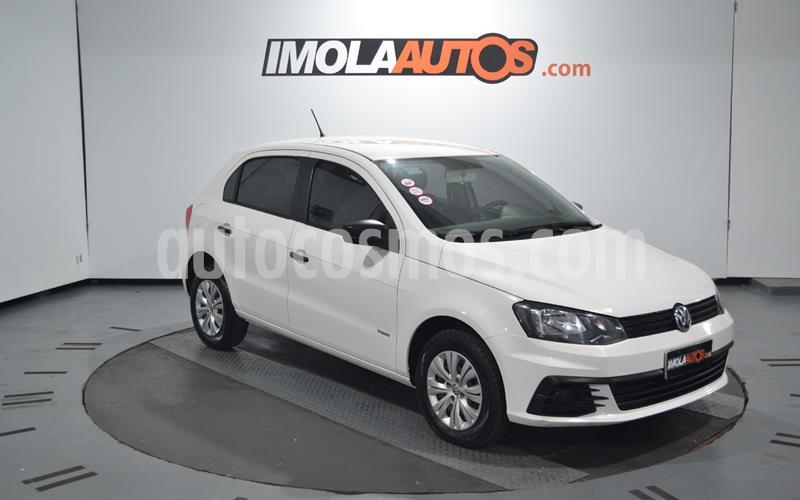 Volkswagen Gol Trend 5P Trendline usado (2017) color Blanco Candy precio $690.000