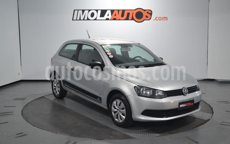 Volkswagen Gol Trend 3P Pack I usado (2013) color Plata precio $650.000