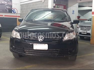 Volkswagen Gol Trend 5P Pack III usado (2011) color Negro precio $390.000