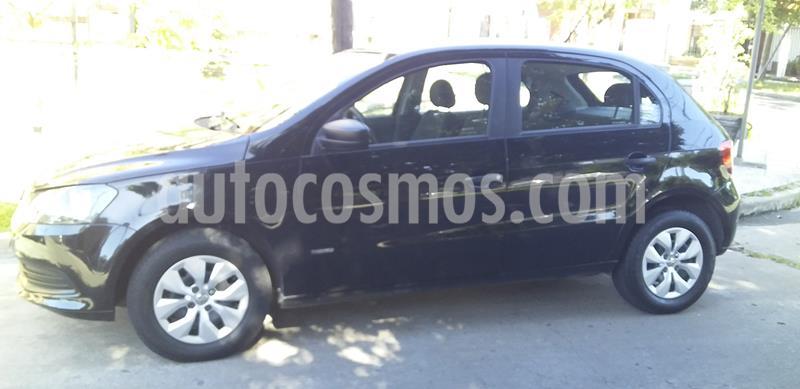 Volkswagen Gol Trend 5P Pack I usado (2015) color Negro precio $730.000