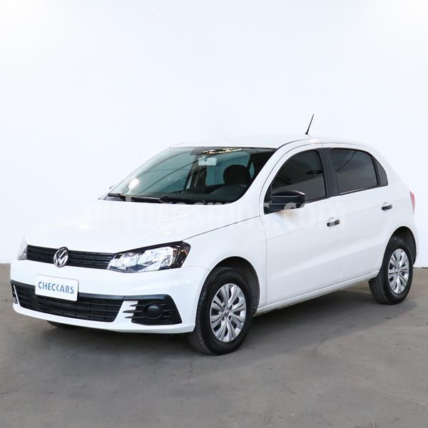 Volkswagen Gol Trend 5P Trendline usado (2018) color Blanco Candy precio $960.000