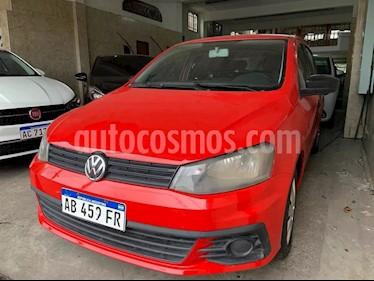 Volkswagen Gol Trend 5P Comfortline usado (2017) color Rojo Flash precio $530.000