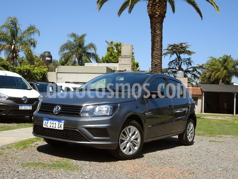 Volkswagen Gol Trend 5P Trendline usado (2020) color Gris Platino precio $890.000