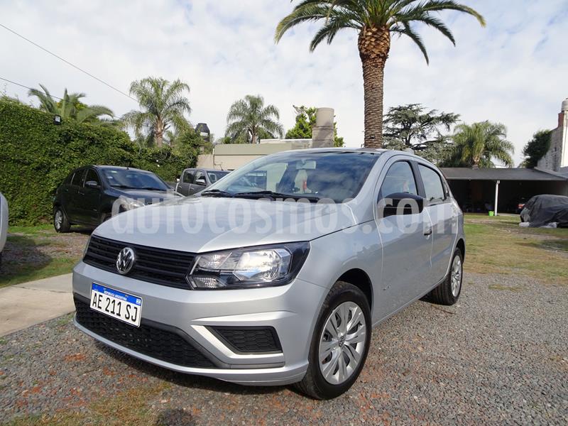 Volkswagen Gol Trend 5P Trendline usado (2020) color Gris Platino precio $885.000