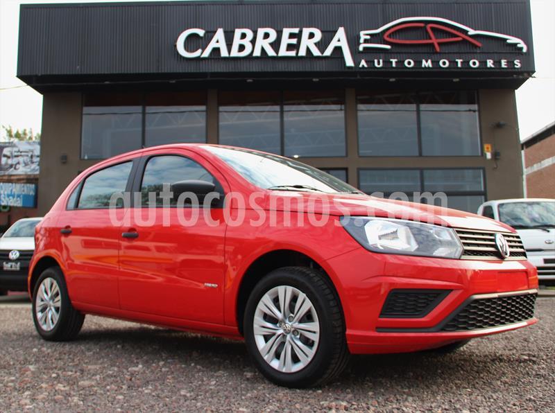 Volkswagen Gol Trend 1.6 5Ptas. Trendline (L15) usado (2020) color Rojo precio $1.200.000