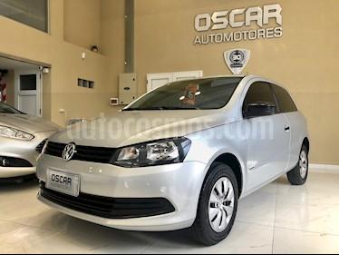 Volkswagen Gol Trend 3P Pack I usado (2016) color Plata precio $589.000