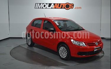 Volkswagen Gol Trend 5P Pack I usado (2009) color Rojo Flash precio $310.000