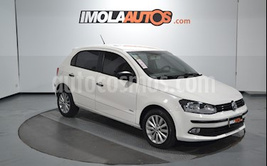 Volkswagen Gol Trend 5P Pack III usado (2013) color Blanco Cristal precio $500.000
