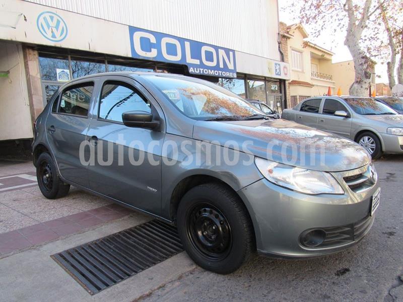 foto Volkswagen Gol Trend 5P Pack I usado (2011) color Gris Vulcano precio $449.800