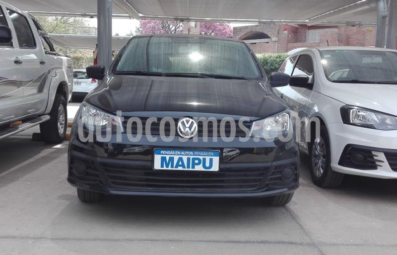 Volkswagen Gol Trend 5P Trendline usado (2016) color Negro precio $720.000
