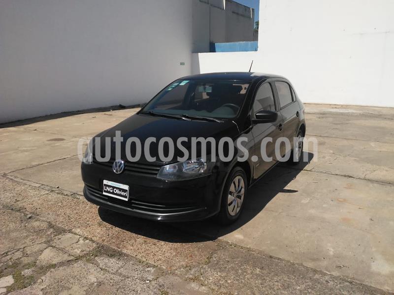 Volkswagen Gol Trend 5P Pack II usado (2013) color Negro precio $645.000