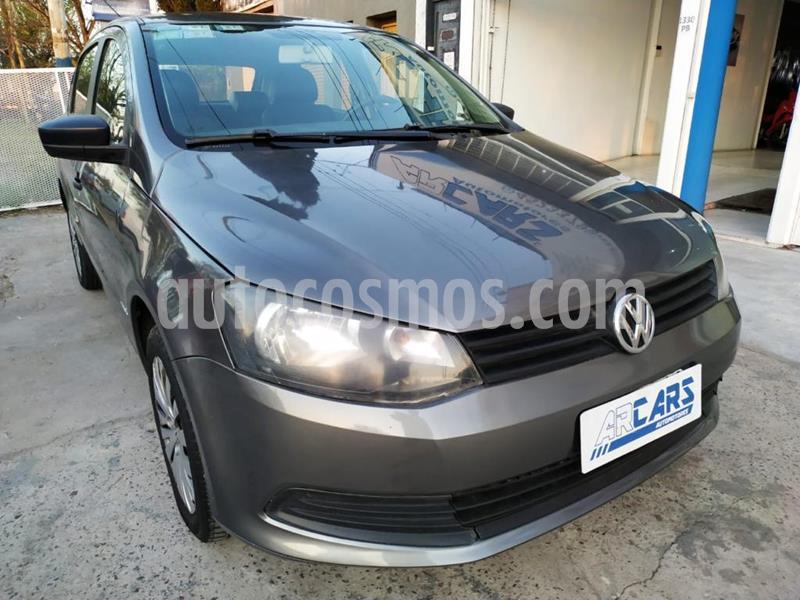 Volkswagen Gol Trend 5P Comfortline usado (2013) color Gris Platino precio $570.000