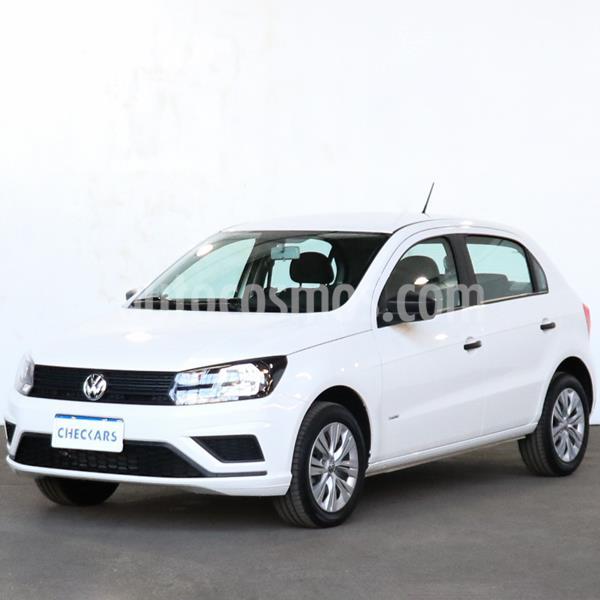 Volkswagen Gol Trend 5P Trendline usado (2020) color Blanco precio $1.082.000