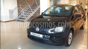 Volkswagen Gol Trend 5P Trendline nuevo color Negro precio $860.000