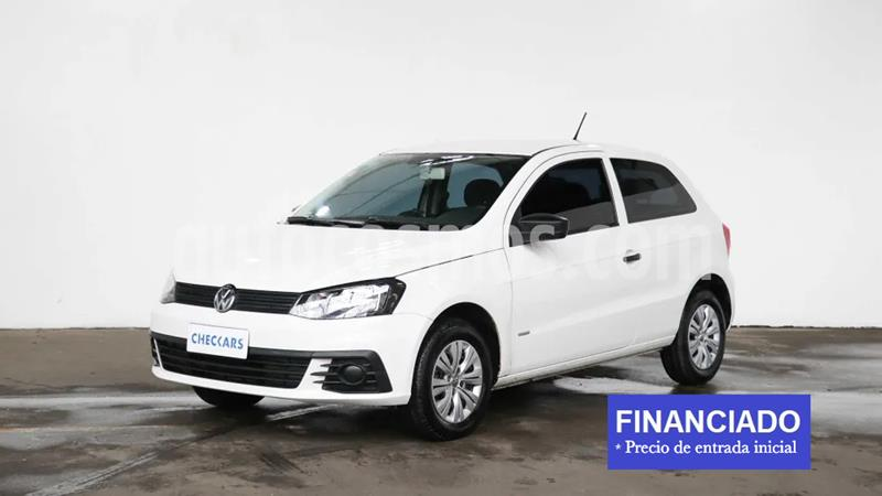Volkswagen Gol Trend 3P Trendline usado (2017) color Blanco Candy precio $800.000