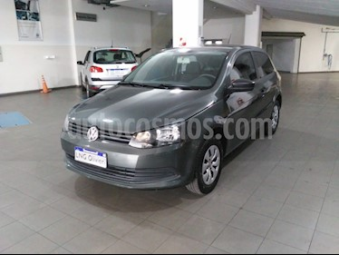 Volkswagen Gol Trend 3P Pack I usado (2016) color Gris Cuarzo precio $630.000