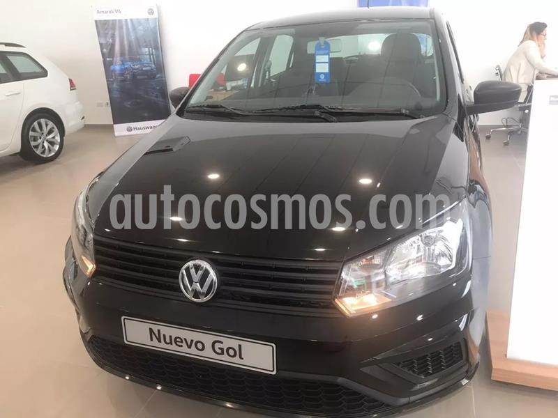 Volkswagen Gol Trend 5P Trendline nuevo color Negro precio $1.217.650