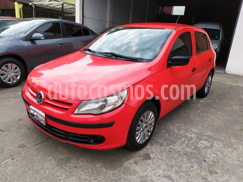 Volkswagen Gol Trend 5P Pack I Plus usado (2009) color Rojo Flash precio $510.000