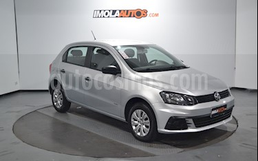 Volkswagen Gol Trend 5P Trendline usado (2018) color Plata precio $550.000