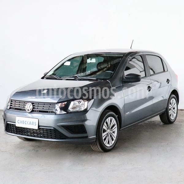 Volkswagen Gol Trend 5P Trendline usado (2020) color Gris Platino precio $814.000