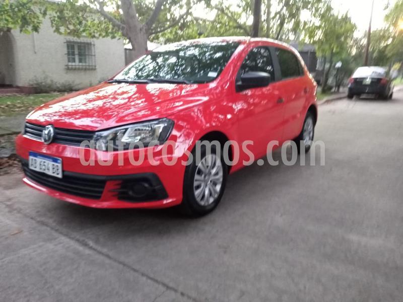 Volkswagen Gol Trend 5P Sportline usado (2017) color Rojo precio $680.000