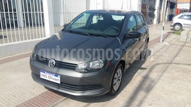 Volkswagen Gol Trend 5P Pack I Plus usado (2013) color Gris Urano precio $380.000