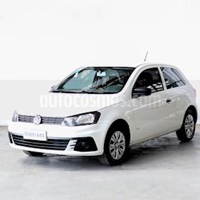 Volkswagen Gol Trend 3P Trendline usado (2017) color Blanco precio $514.000