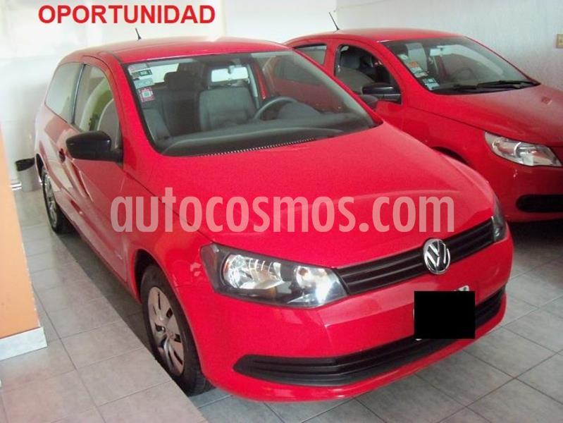 Volkswagen Gol Trend 3P Pack I usado (2014) color Rojo precio $439.900