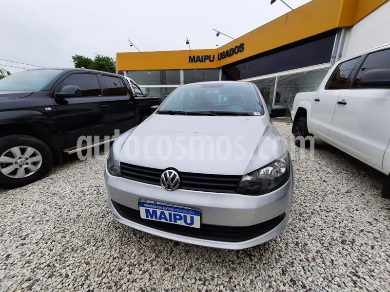 foto Volkswagen Gol Trend 5P Pack I usado (2016) color Gris precio $700.000