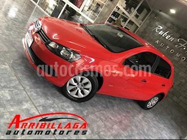 Volkswagen Gol Trend 5P Pack I usado (2014) color Rojo Flash precio $430.000
