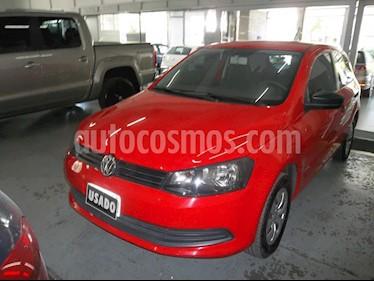 Volkswagen Gol Trend - usado (2015) color Rojo precio $380.000