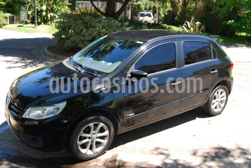Volkswagen Gol Trend 5P Pack I usado (2011) color Negro precio $350.000