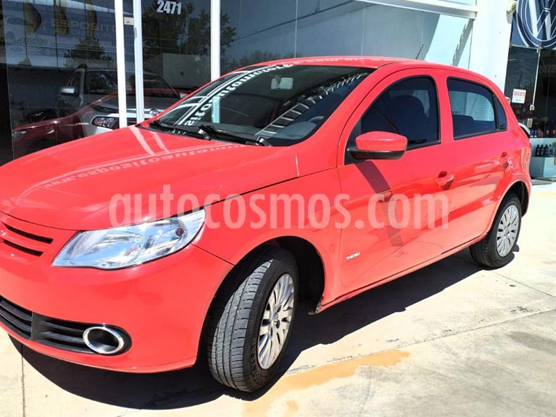 Volkswagen Gol Trend 5P Pack I usado (2010) color Rojo precio $550.000